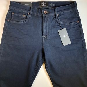 7 For All Mankind - Slim Straight - Black - NEW*